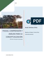 Paisaje, comprensión y análisis para su conceptualización