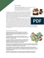 Cuantificación de Los Bienes Familiares, Bienes y Servicios de La Comunidad