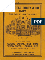 1963, Cakebread Robey & Co, London, UK