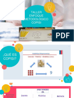 Taller Enfoque Metodologico Copisi