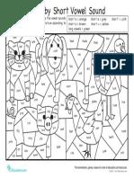 color by short vowel sound.pdf