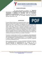 Jjl Pliego Peticiones Tc Buen 2018