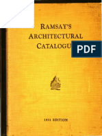 1931, Ramsay's Architectural Catalogue, Melbourne, AUS