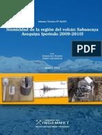 Sismicidad Region Del Volcan Sabancaya 2009-2010