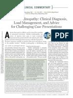 Nuevas opciones  de diagnostico y tratamiento en tendinopatia patelar