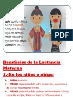 Beneficios de La Lactancia Materna Word