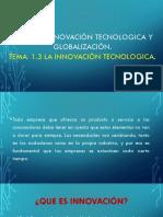 1.3 La Innovación Tecnologica (Eq. 3)