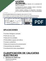 CALICATAS ELÉCTRICAS