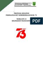 Proposal Hut Ri 2018