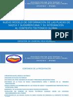 90-Nuevo Modelo de Deformación de Las Placas de Nazca y Sudamericana y Su Integración