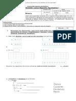 Prueba Matematica Agosto 3ª Divisiones