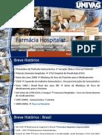 Aulas 1 a 3 -Farmacia Hospitalar 2018