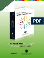 31561593 Diccionario de Americanismos 2010