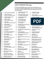 SA Lesson 7-8 - Julie - Career Interest survey.pdf