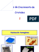 Técnicas de Crecimiento de Cristales 2