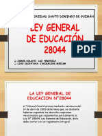 ley general 28044