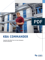 KBA Commander Printing Press