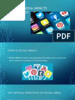 social media impact presentation 1