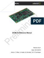 SXoM Reference Manual B.01
