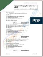 Microsoft Word - AR-10 Apply Receipt at Line Level