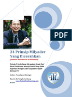 24 Prinsip Milyader Yang Dicerahkan (Secret to Be Rich) (1).pdf