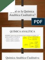 Qué es la Química Analítica Cualitativa.pptx