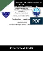 Funcionalismo y Organicismo