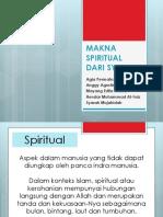Makna Spiritual Dari Syukur