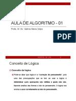 Aula01 Algortimo Conceitos 2018