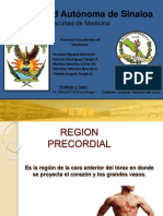 region precordial