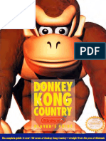 Donkey Kong Country 1994 Nintendo Players Guide SNES