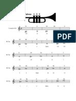 38845492 Trumpet Fingering Chart