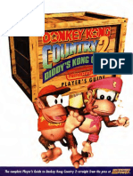 Donkey Kong Country 2 Diddys Kong Quest 1995 Nintendo Players Guide SNES