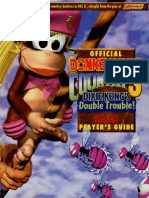Donkey Kong Country 3 Dixie Kongs Double Trouble 1996 Nintendo Players Guide SNES