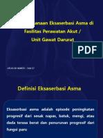 Penatalaksanaan Eksaserbasi Asma di Perawatan Akut atau UGD_ATLAS ID 360015 – Feb 17.pptx