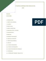 Manual de Política Contable