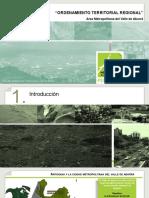Planificación Territorial Regional - Area Metropolitana