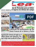 Periódico Lea Lunes 01 de Octubre Del 2018