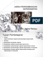Falsafah Dan Sejarah Keperawatan