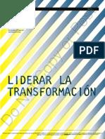 Liderar La Transformación