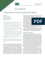 Complications in Reverse Shoulder Arthroplasty