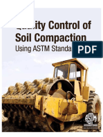 Quality Control of Soil Campaction Using ASTM Standart