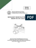 3. Mengeset Mesin Dan Program CNC