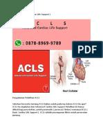 Kursus ACLS | 08788 - 9699 - 789 | Kursus ACLS PERKI HOUSE