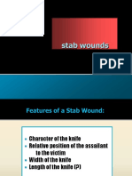 f. Stab Wounds