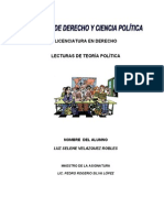 Teoria Politica Manual