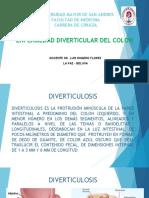 3 ENFERMEDAD DIVERTICULAR DEL COLON.pptx