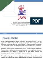 Clases y Objetos Java