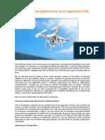 Los Drones y Sus Aplicaciones en La Ingeniería Civil