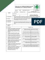 SOP pengelolaan limbah medis lab, pengelolaan reagen, dan sop keselamatan kesehatan kerja petugas lab.doc